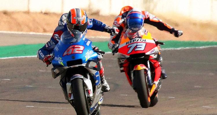Rins se quedó con GP de Aragón del MotoGP: Mir pasó a Quartararo y lidera a cuatro fechas del final