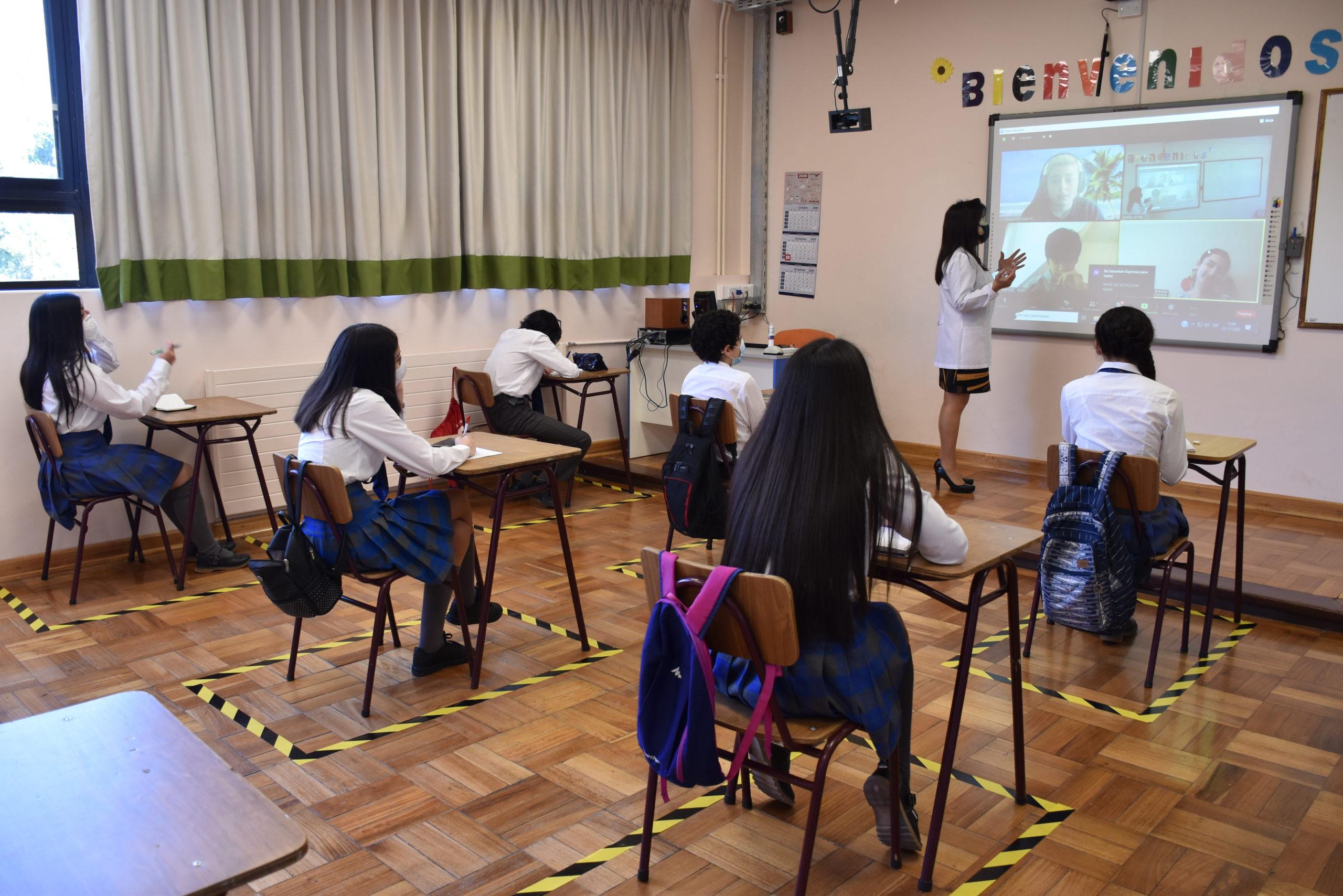 Colegios Coemco en Concepción tendrán clases híbridas en 2021: serán presenciales y a distancia | Nacional | BioBioChile