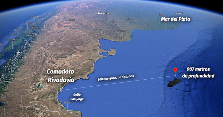 Argentina admite que ARA San Juan fue hallado 1 año antes por buque chileno: no quiso reconocerlo   Internacional   BioBioChile