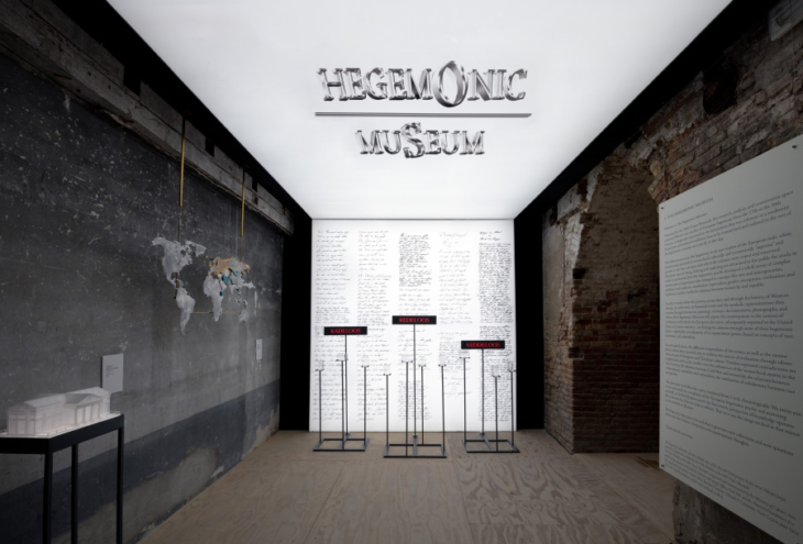El Museo Hegemónico, Miradas Alteradas. Pabellón de Chile, 58ª Bienal de Venecia, 2019. Foto: Felipe Lavin