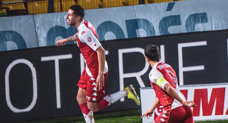 Guillermo Maripán anotó su cuarto tanto con el AS Mónaco