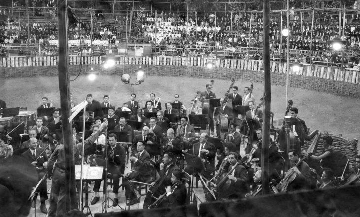 Orquesta Sinfónica Nacional en Rancagua (1950) | Cedida