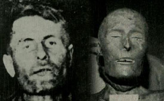Elmer McCurdy momificado