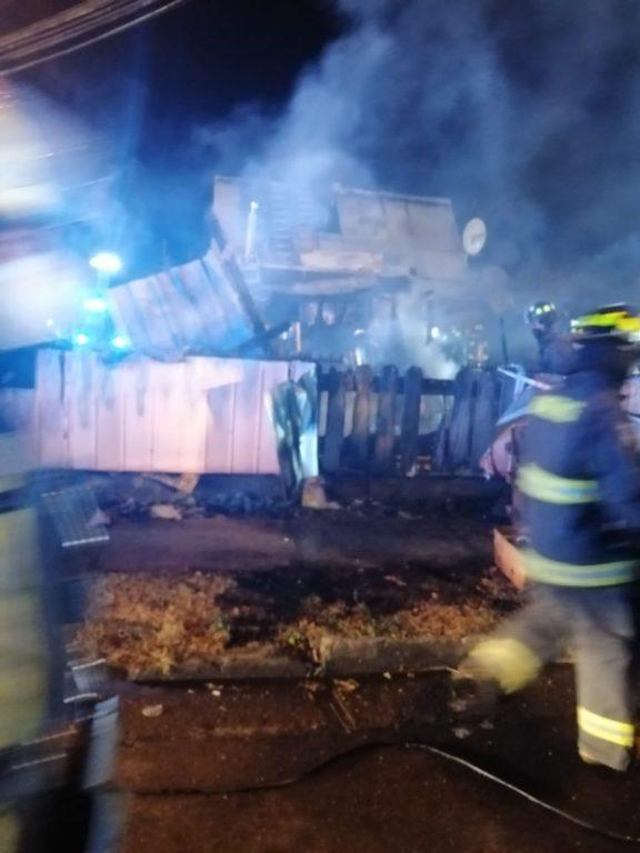incendio Osorno