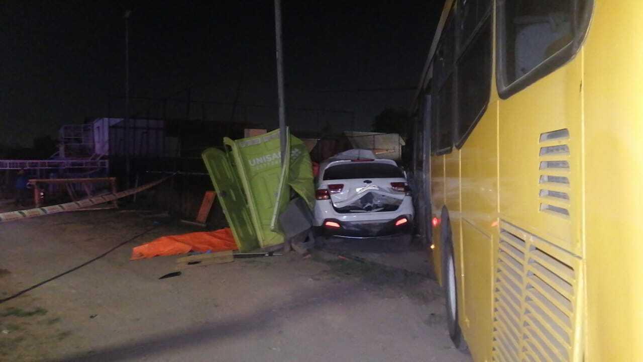 Accidente en Puente Alto