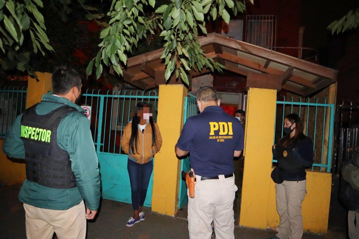 Operativo PDI en Temuco