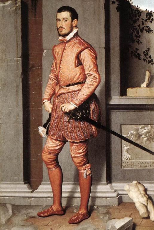 El caballero rosa | Giovanni Battista Moroni (1540)