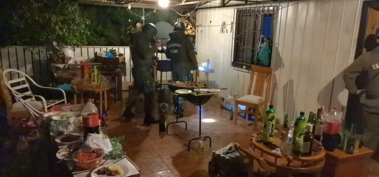fiesta clandestina Cañete