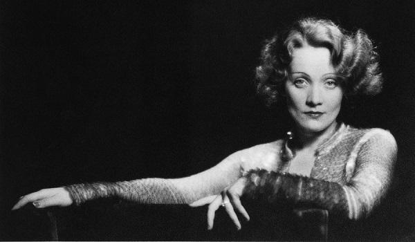 "Marlene Dietrich en ""El ángel azul"""