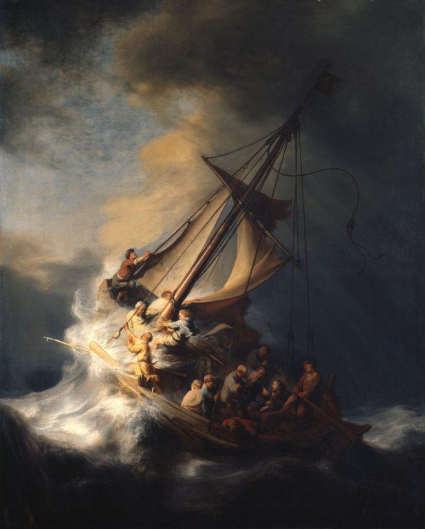 """""""La tormenta en el mar de Galilea"""""""