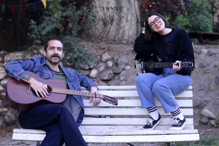 Ángelo Pierattini junto a Vicky Cordero   Cedida