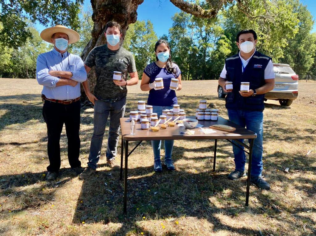 Matrimonio de Arauco hace frente a la pandemia con exitoso emprendimiento de mantequilla de maní