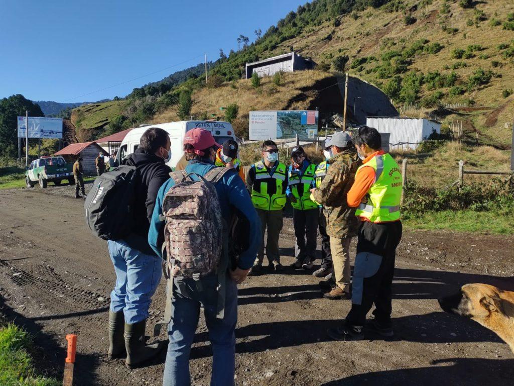 Los Lagos: Equipos de rescate trabajan en búsqueda de joven extraviado en Volcán Puntiagudo
