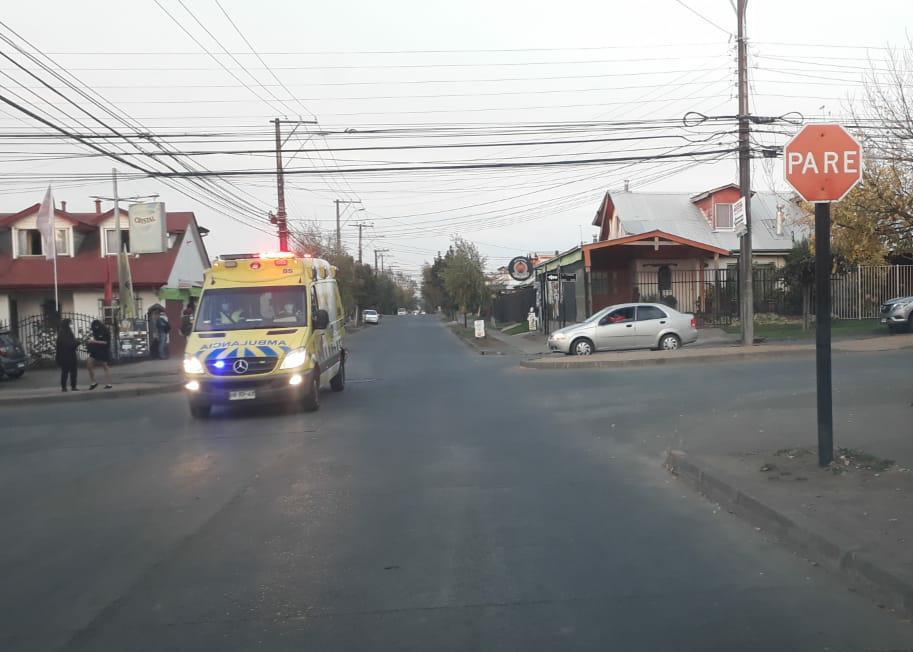 Seis lesionados deja serie de accidentes de tránsito en Los Ángeles y Laja