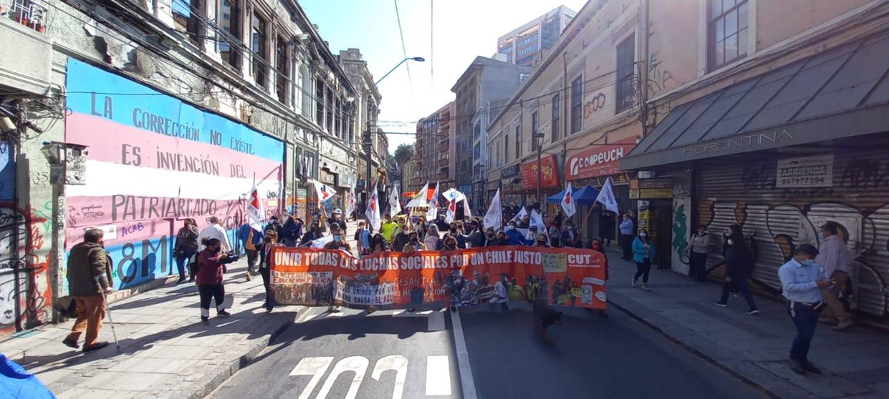 """Secretario General de CUT en Valparaíso sobre huelga sanitaria: """"Es para avanzar en soluciones"""""""