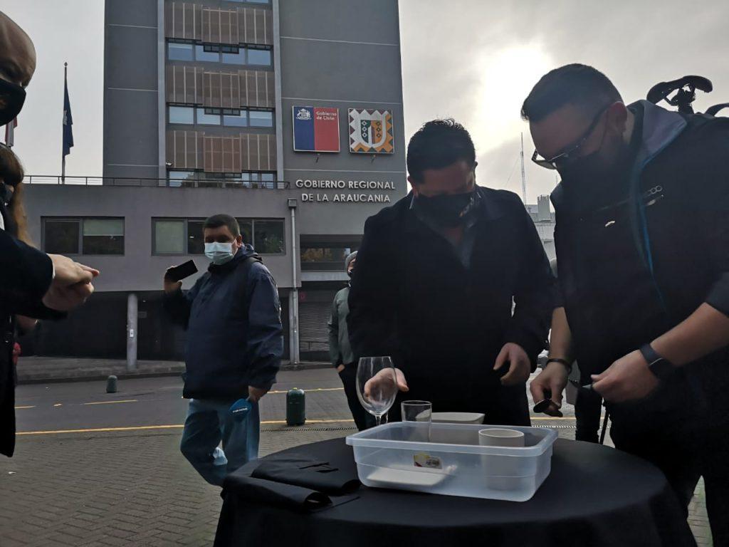 """""""Última Cena"""": gremio gastronómico de Temuco se une a manifestación por crisis del rubro en pandemia"""