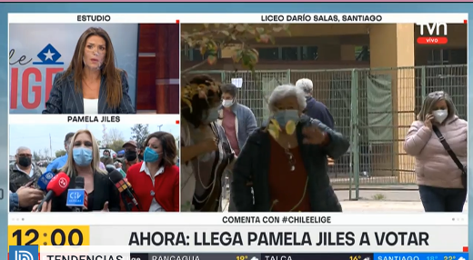 TVN corta a Pamela Jiles tras insulto con garabato incluido: Carola Escobar  da explicaciones al aire   TV y Espectáculo   BioBioChile