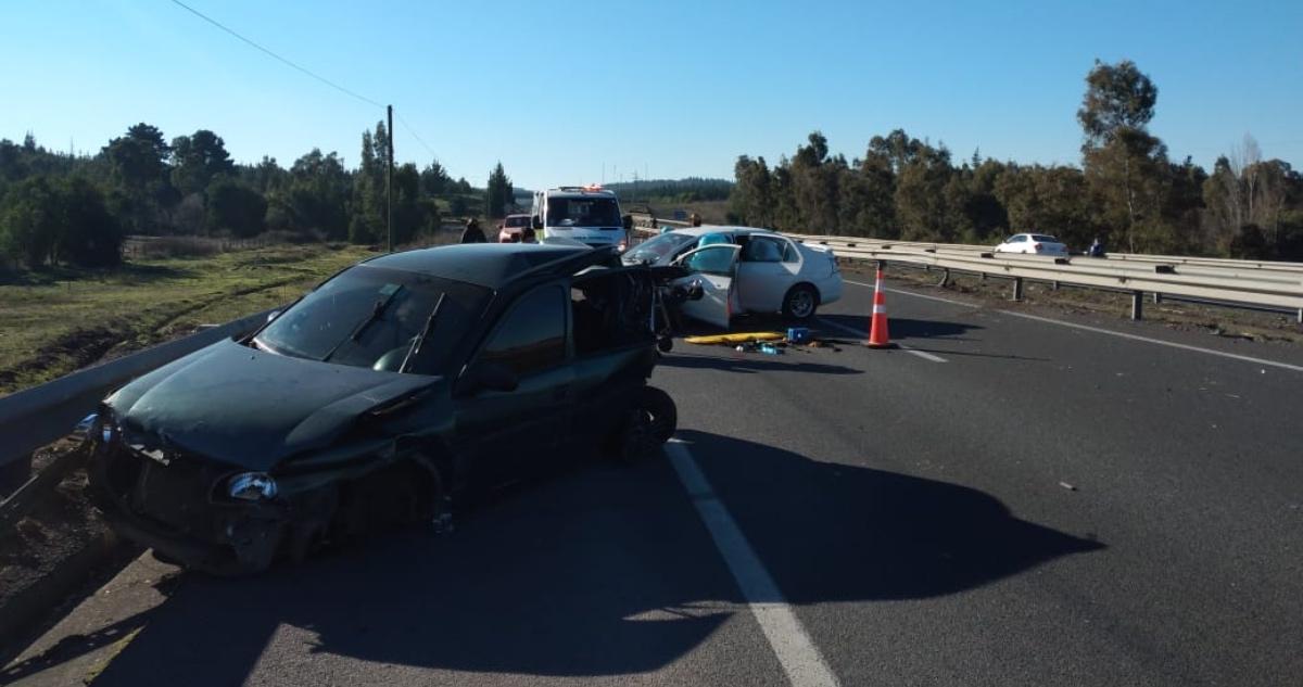 vehículos involucrados en accidente