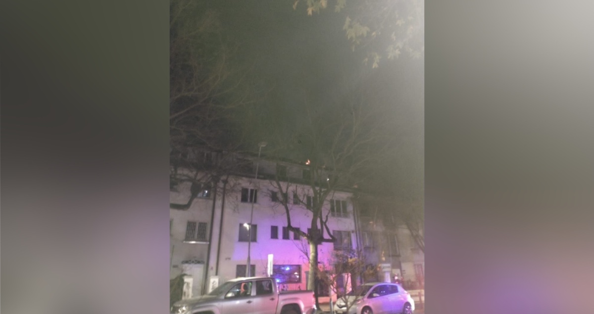 Incendio en Concepción