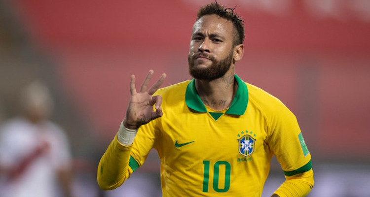 Neymar Brasil Venezuela Copa America