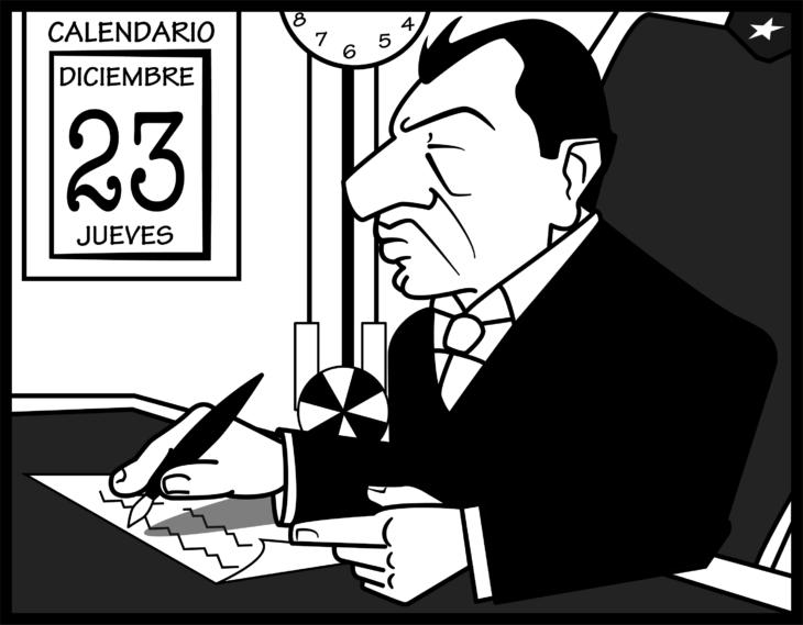 La Transmision del mando presidencial | Cedida