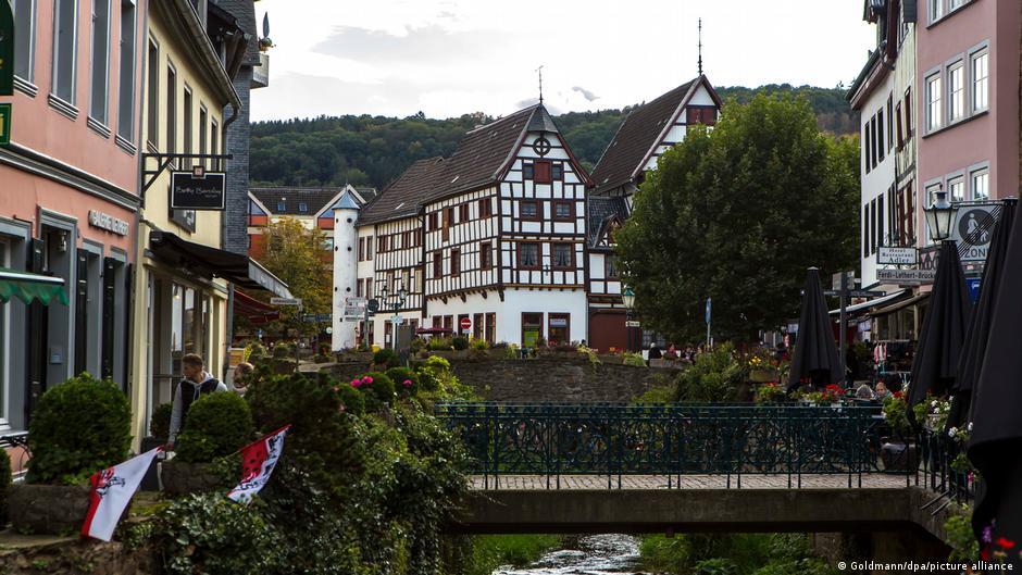 Bad Münstereifel, un atractivo turístico previo a las inundaciones