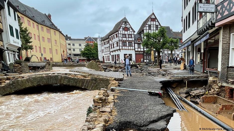 Bad Münstereifel devastada por las inundaciones