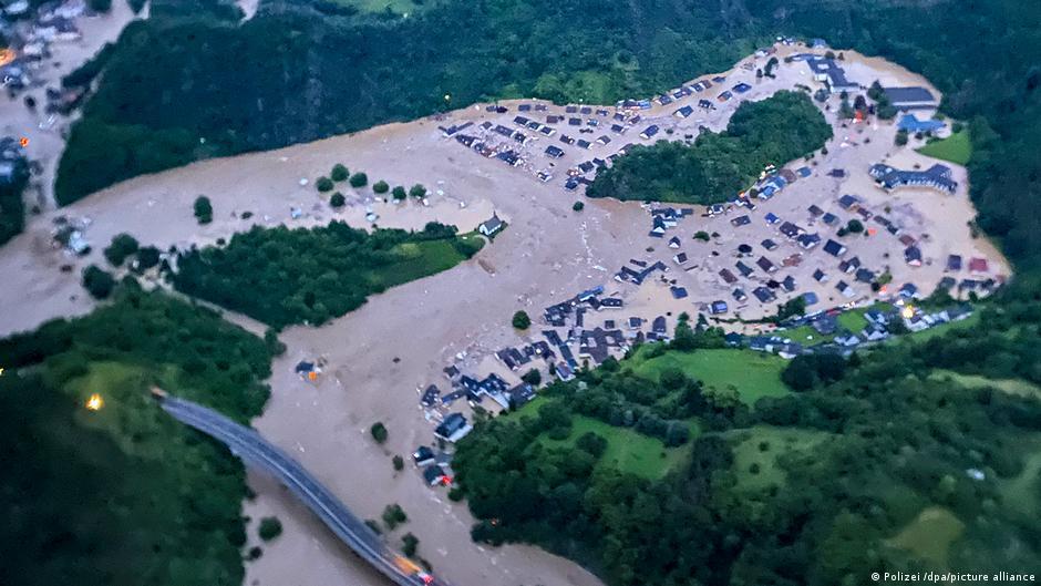 Zona inundada de Altenahr en Alemania