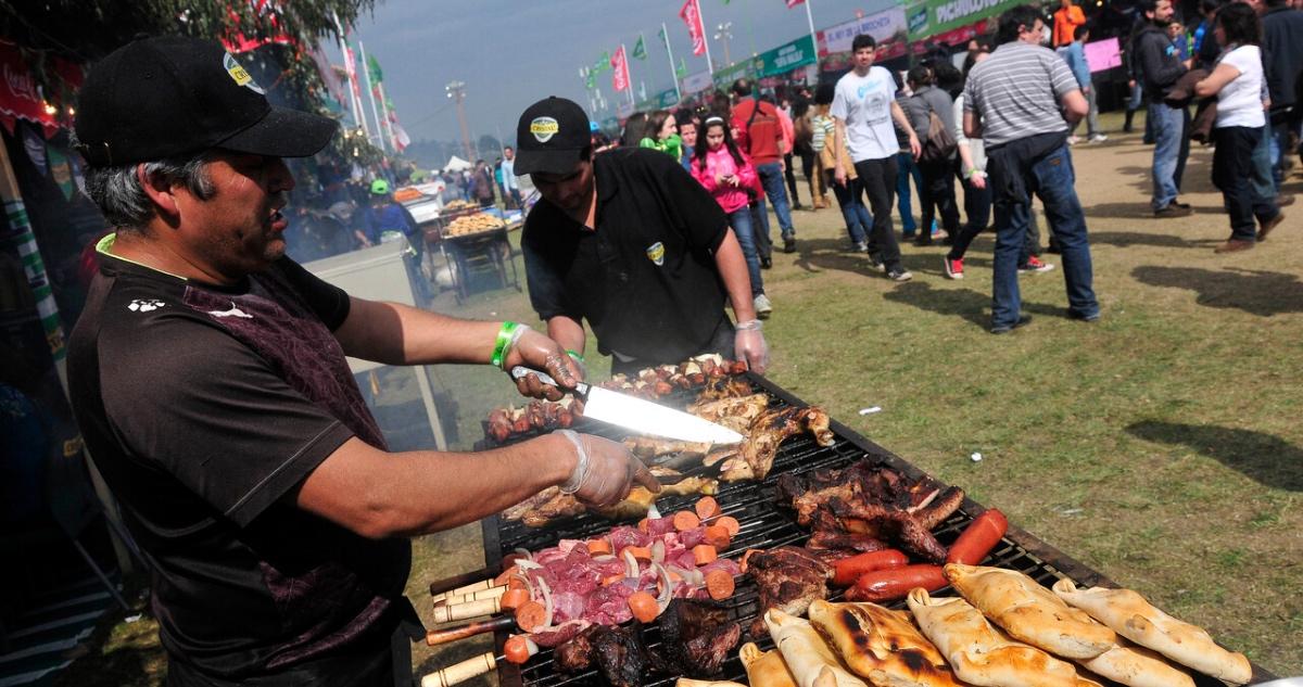 Fiestas Patrias aforos ramadas