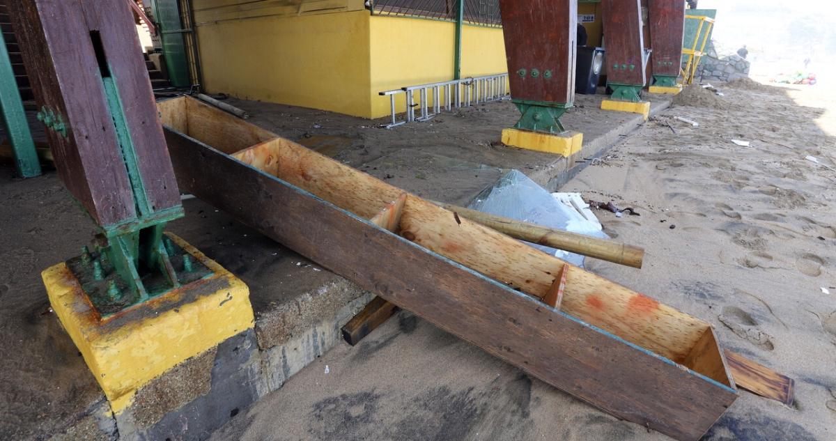 daños infraestructura por marejadas anormales