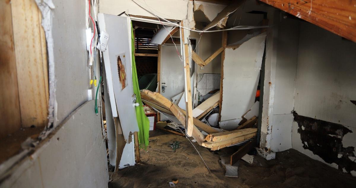 daños en borde costero