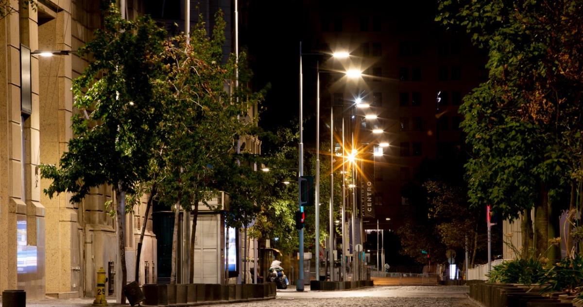 calle vacía toque de queda