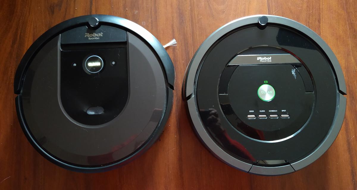 Roomba i7+ vs Roomba 880