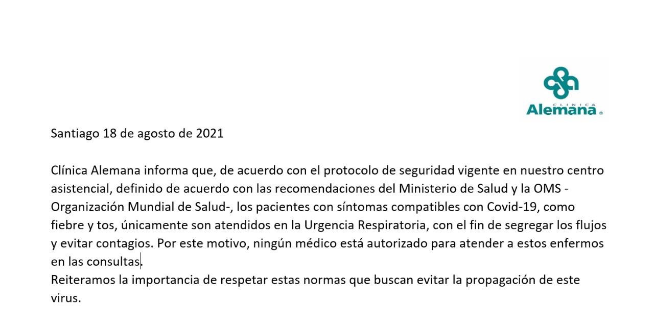 comunicado-clinica-alemana-porto-seguro