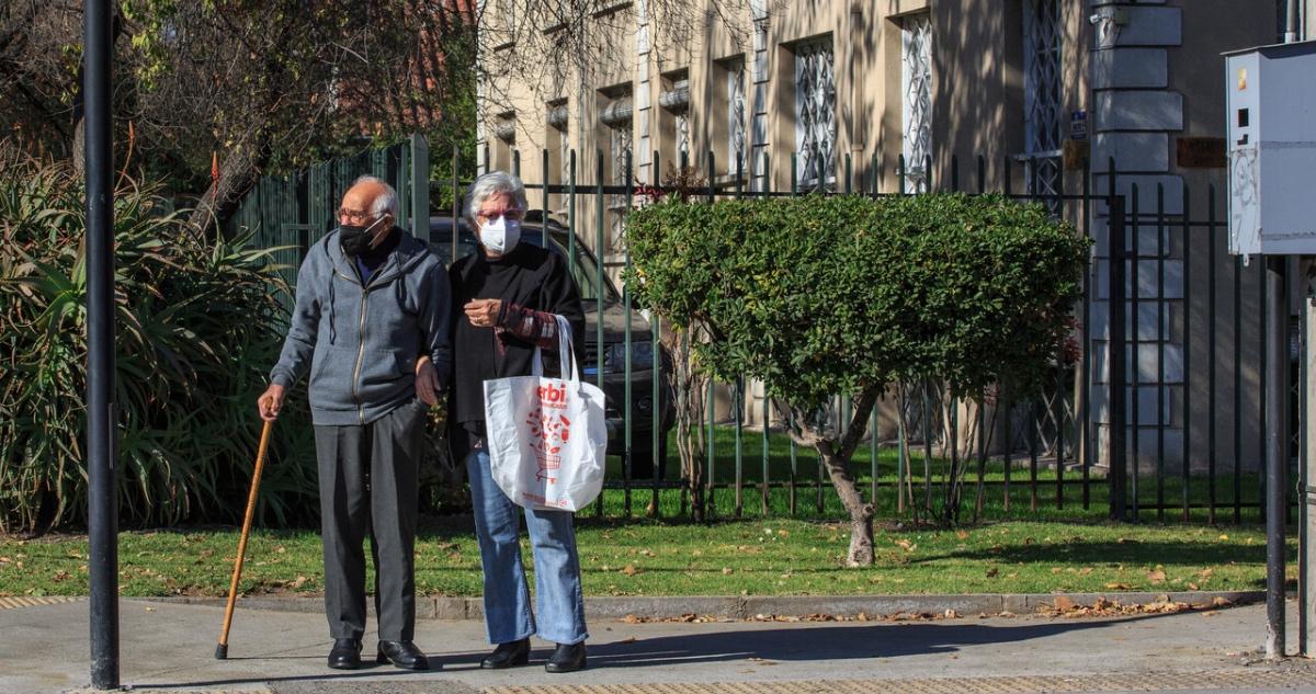 Adultos mayores en comuna en Preparación