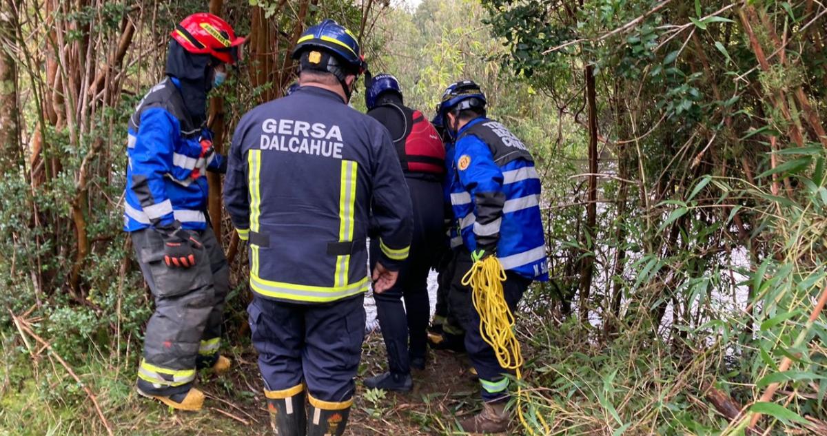 mujer fallece ahogada tras ser arrastrada por río en chonchi