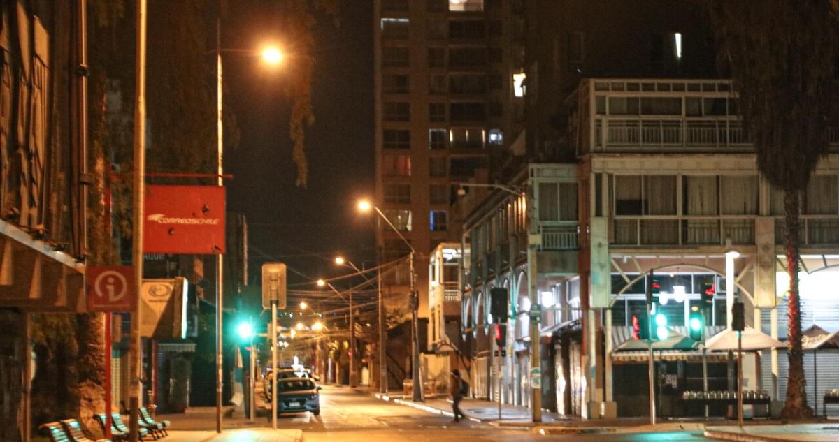calles vacías en toque de queda