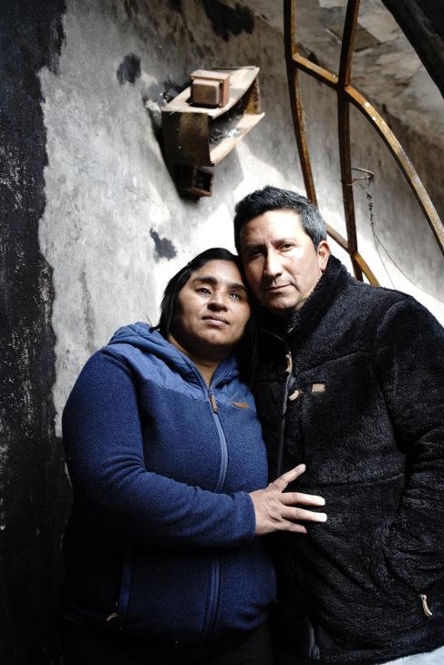 Fabiola y Marco | Foto: Jorge Villa